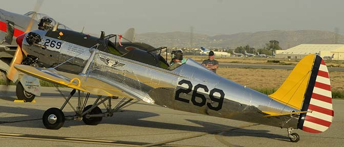 Ryan PT-22 (ST3KR) N48742 269, April 29, 2016