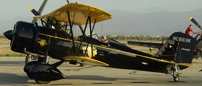 Stearman 4E Junior Speedmail NC663K, April 29, 2016
