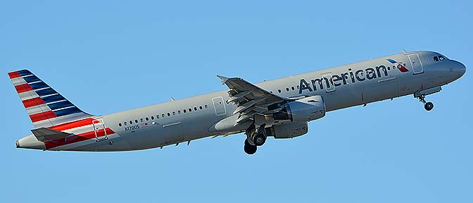 American Airbus A321-211 N170US, Phoenix Sky Harbor, September 25, 2016