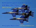 McDonnell-Douglas F/A-18 Hornets of the U.S. Navy Blue Angels: 2009 Calendar