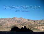 California High Desert: 2009 Calendar