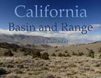 California Basin and Range: 2009 Calendar