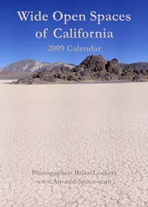 Wide Open Spaces of California: 2009 Calendar