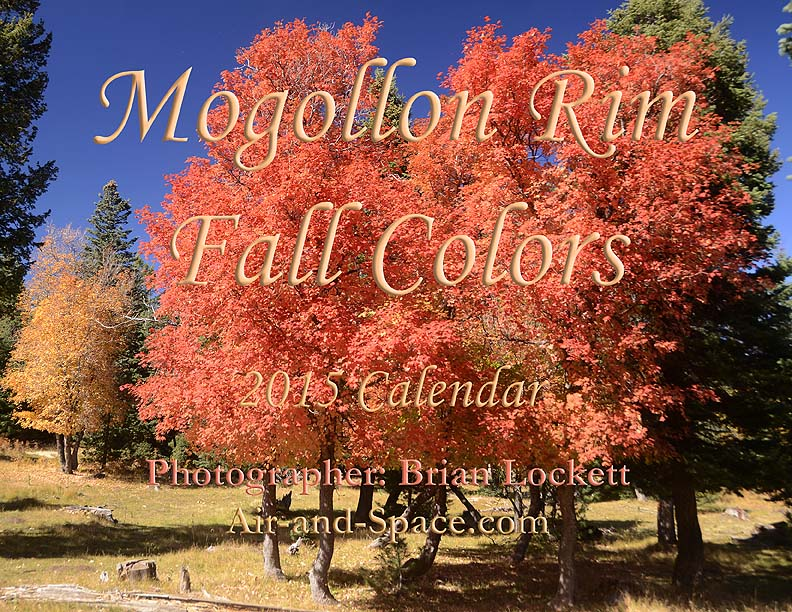 Lockett Books Calendar Catalog: Mogollon Rim Fall Colors