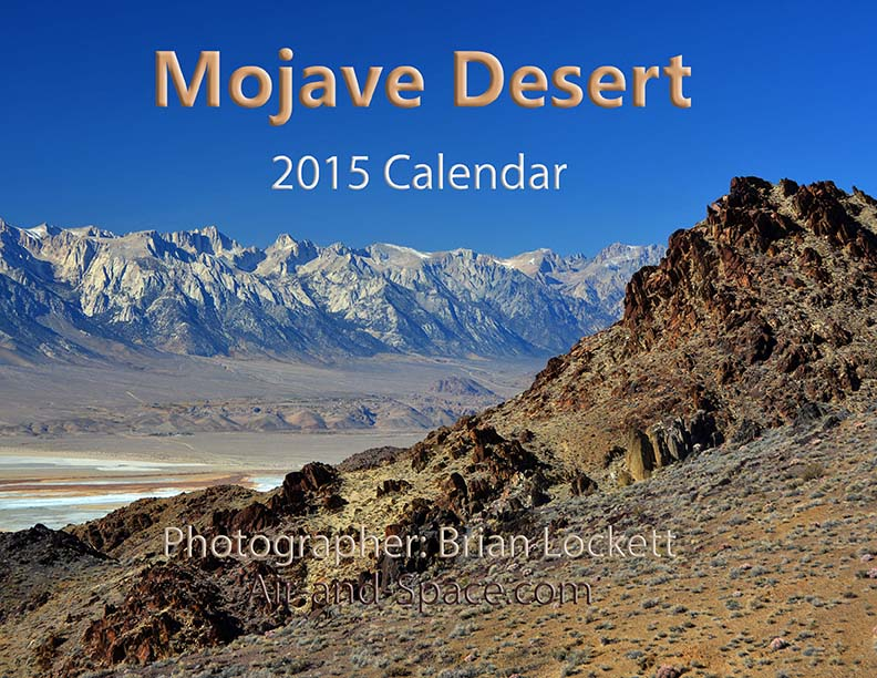 Lockett Books Calendar Catalog: Mojave Desert