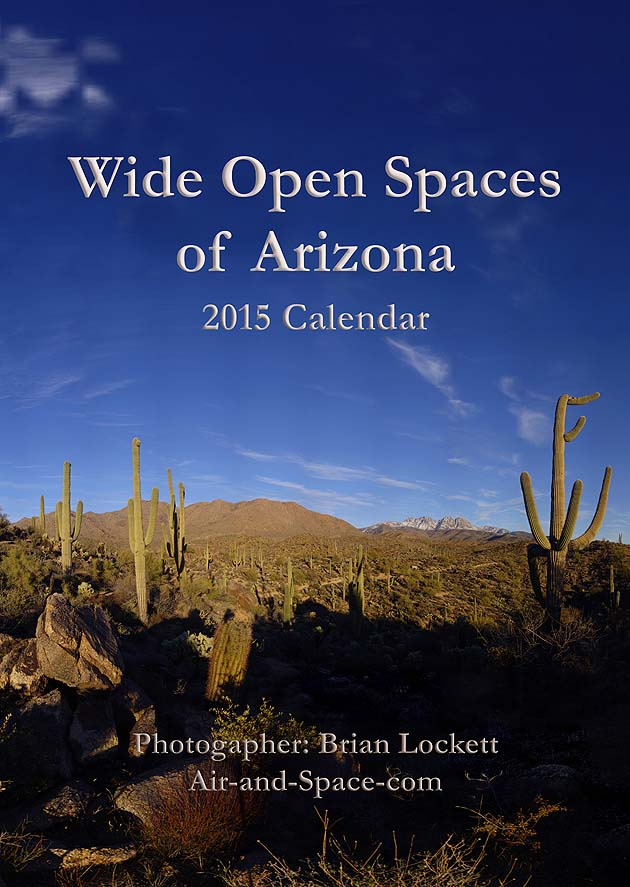 Lockett Books Calendar Catalog: Wide Open Spaces of Arizona