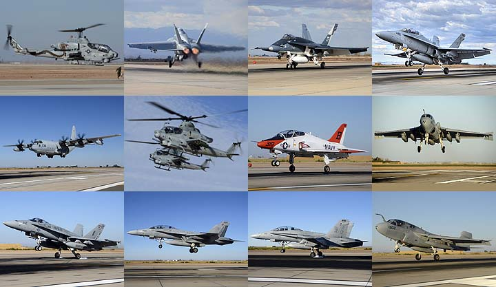 Lockett Books Calendar Catalog: US Navy and Marine Corps Airplanes at Naval Air Facility el Centro