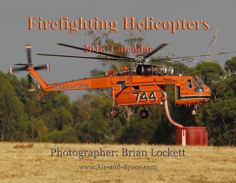 Lockett Books Calendar Catalog: Firefighting Helicopters