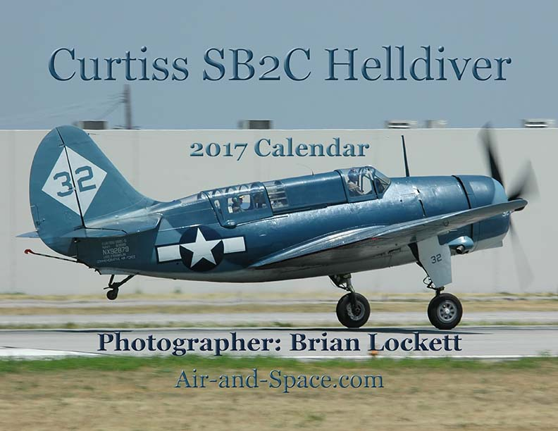 Lockett Books Calendar Catalog: Curtiss SB2C Helldiver