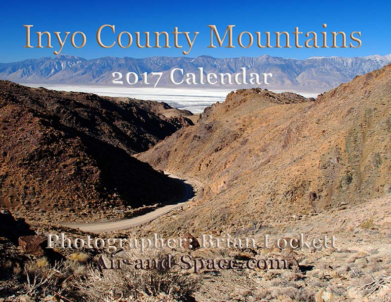 Lockett Books Calendar Catalog: Inyo County Mountains