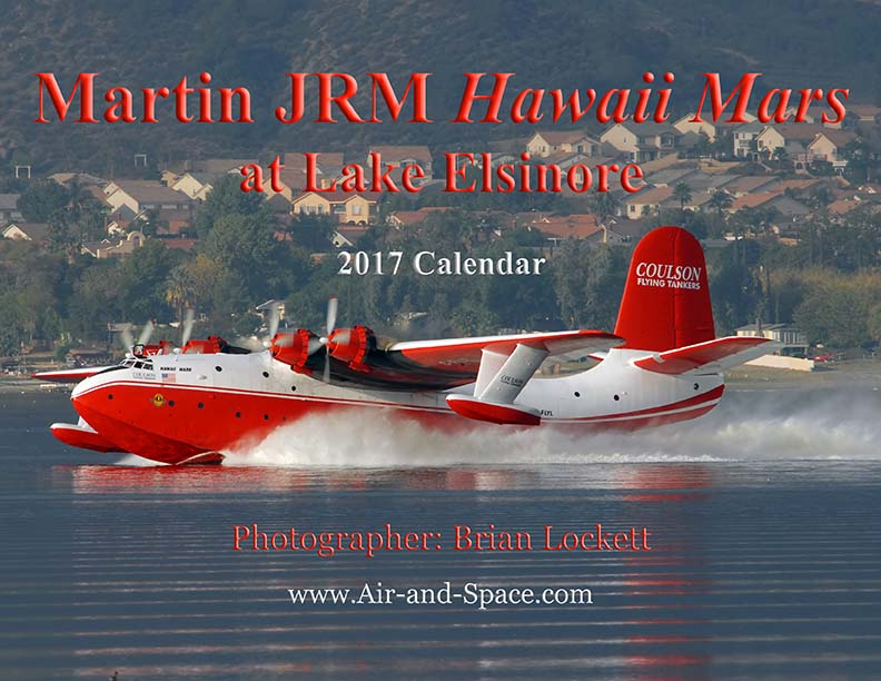 Lockett Books Calendar Catalog: Martin JRM Hawaii Mars at Lake Elsinore
