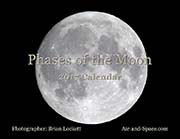 Phases of the Moon: 2017 Calendar