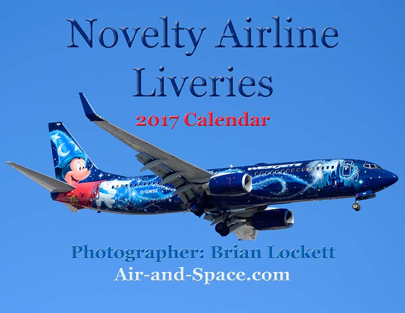 Lockett Books Calendar Catalog: Novelty Airline Liveries