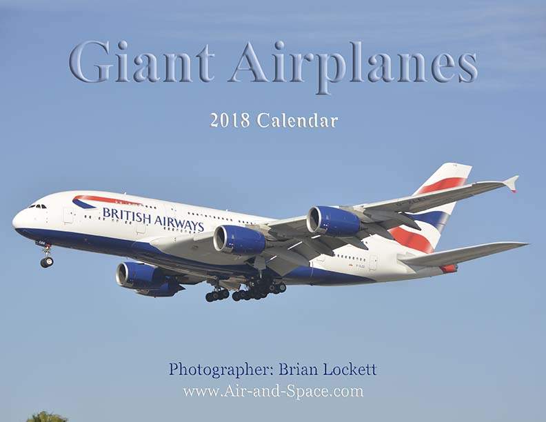 Lockett Books Calendar Catalog: Giant Airplanes