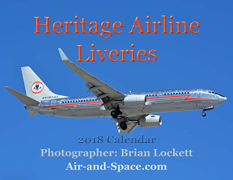 Lockett Books Calendar Catalog: Heritage Airline Liveries