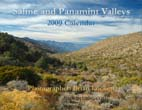 Saline and Panamint Valleys: 2009 Calendar