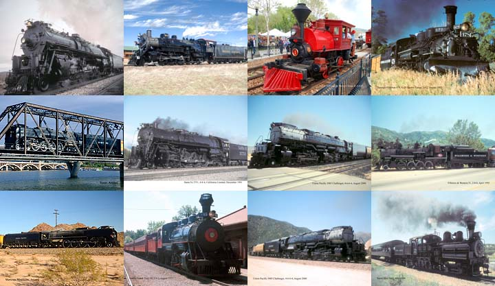 Lockett Books Calendar Catalog: Steam Locomotives