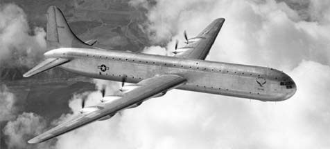 Consolidated-Vultee photo of XC-99