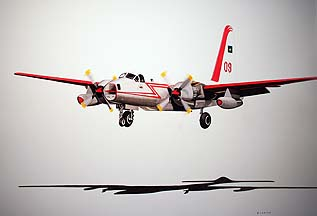 SP-2H N4235T neptune Aviation Tanker 09 painting