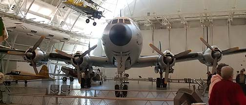 Lockheed C-121C 54-0177, National Air and Space Museum Udvar-Hazy Center, May 13, 2009
