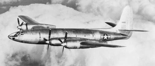 Republic XF-12 Rainbow first flight, February 4, 1946, Farmingdale, New York