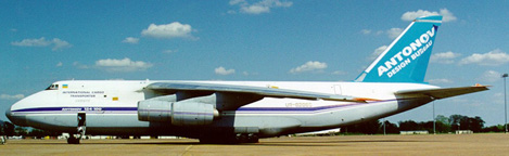 An-124, UR-82066 at Alexandria International Airport in Louisiana on April 19, 1999