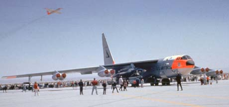 NB-52A at Edwards AFB Open House, May 1962