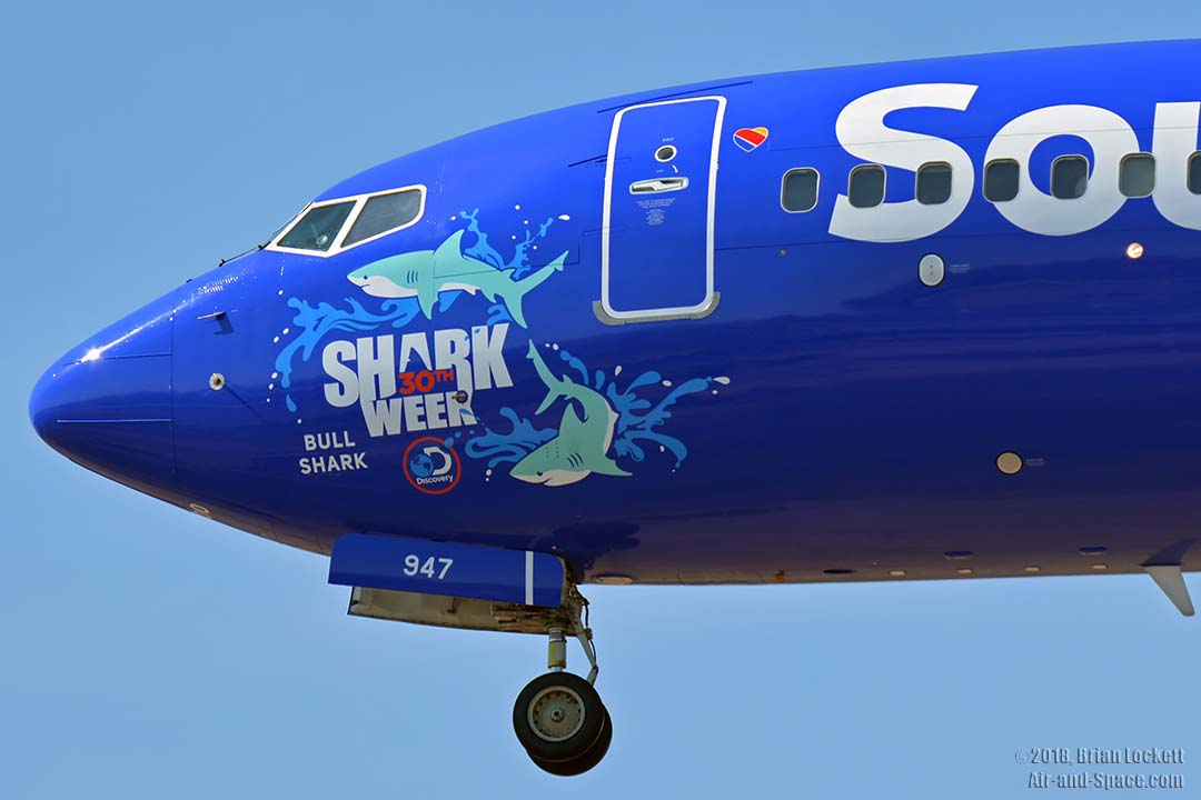 southwest shark week sweepstakes air and space com air traffic at phoenix sky harbor july 9775